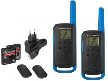 MOTOROLA T62 krótkofalówka walkie-talkie 8km biebieska