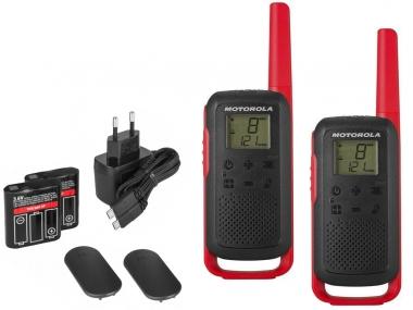 MOTOROLA T62 krótkofalówka walkie-talkie 8km czerwona