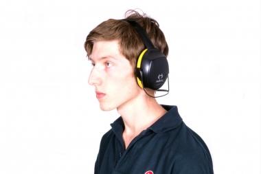 HELLBERG Secure 2 nauszniki słuchawki ochronne z obejmą na kark