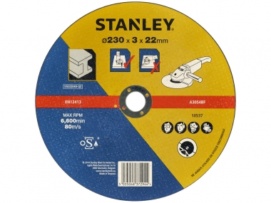 STANLEY STA32040 tarcza korundowa do metalu 230 mm