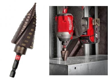 MILWAUKEE 48899265 wiertło stopniowe udarowe 4-30mm