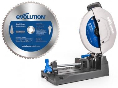 EVOLUTION S355CPS przecinarka piła do metalu 355mm + tarcza do stali