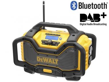 DEWALT DCR027 radio budowlane Bluetooth DAB+ ładowarka