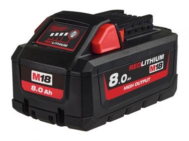 MILWAUKEE akumulator M18HB8 18V 8,0Ah Li-Ion