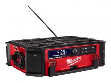 MILWAUKEE M18 PRCDAB+-0 radio budowlane ładowarka 18/230V