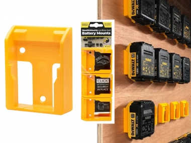 Uchwyt na akumulator DeWALT 18-20-54-60V x6 zestaw