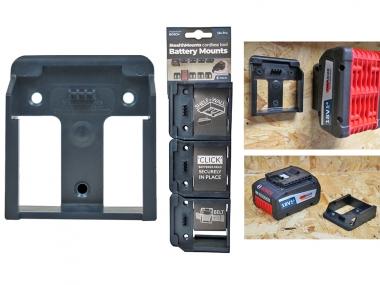Uchwyt na akumulator BOSCH 18V Pro x6 zestaw