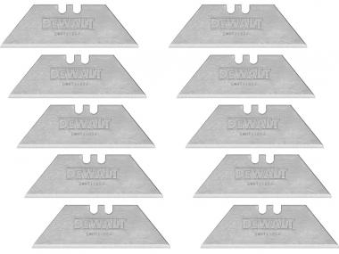 DeWALT DWHT11004-2 ostrza trapezowe do noży x10 zestaw