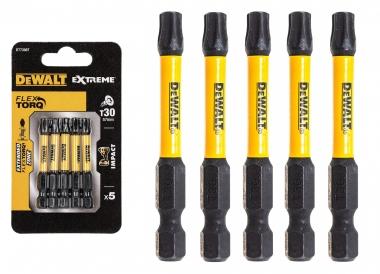 DeWALT DT7398T bity udarowe T30 50mm x5 zestaw