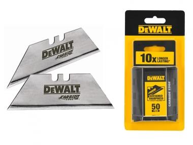 DeWALT DWHT8-11131 ostrza trapezowe x50 zestaw