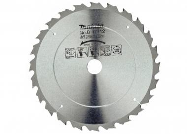 MAKITA B17712 tarcza piła tarczowa drewno 60z 30 / 260mm