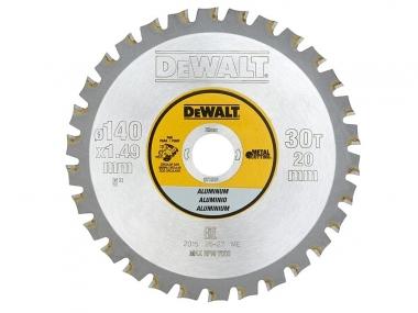 DeWALT DT1910 tarcza do aluminium 30z 20 / 160mm